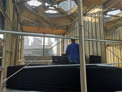 Cooling tower noise control