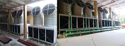 Cooling tower noise reduction project