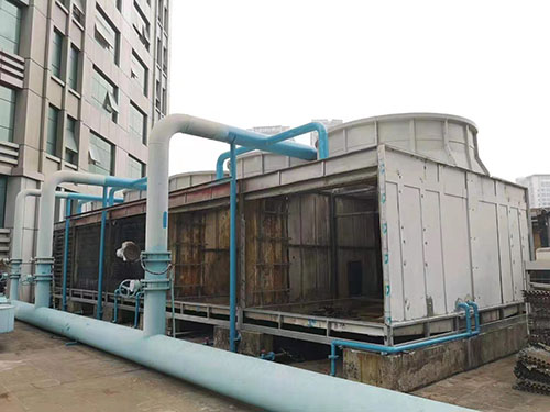 Cooling tower packing replacement